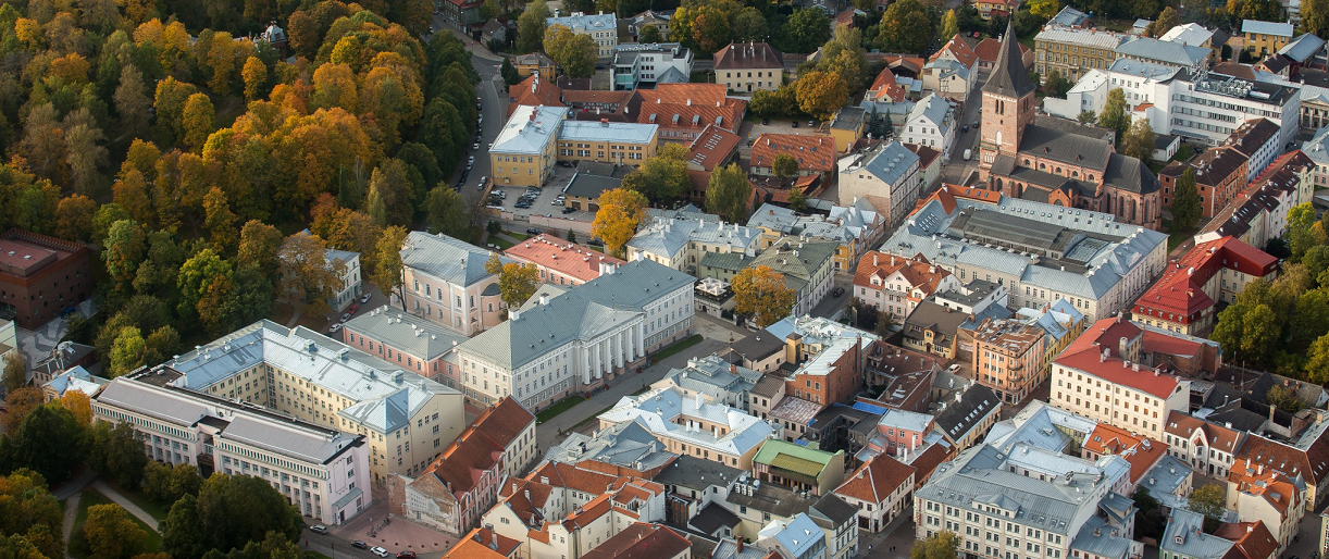 New spatial vision of Tartu as an open, international, and smart university city